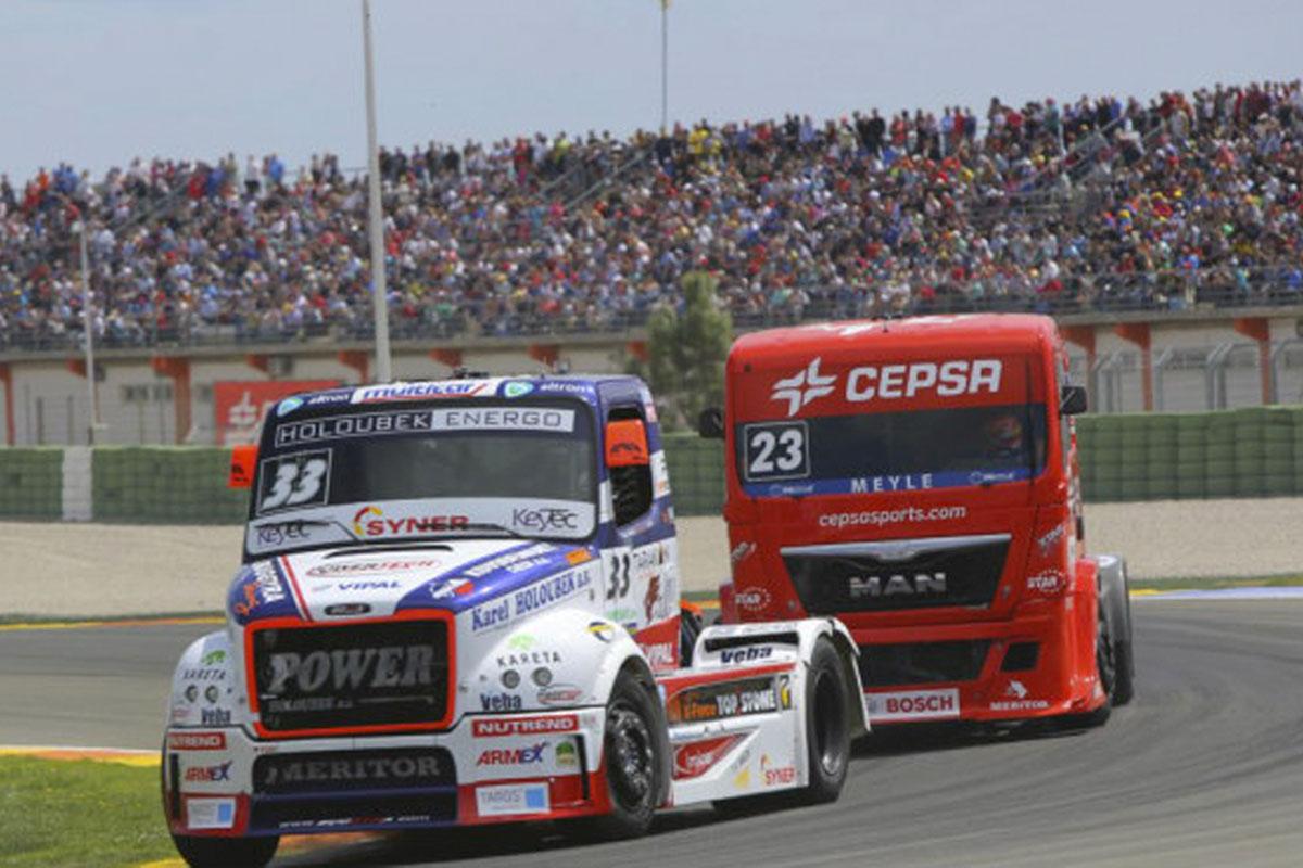 El Circuit Ricardo Tormo vuelve a acoger carreras de camiones
