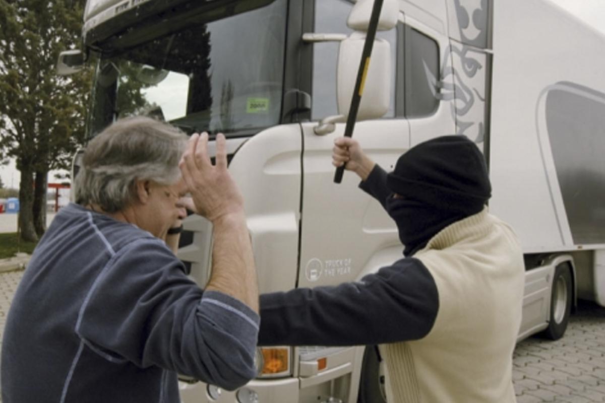 Consejos para evitar robos en el camión