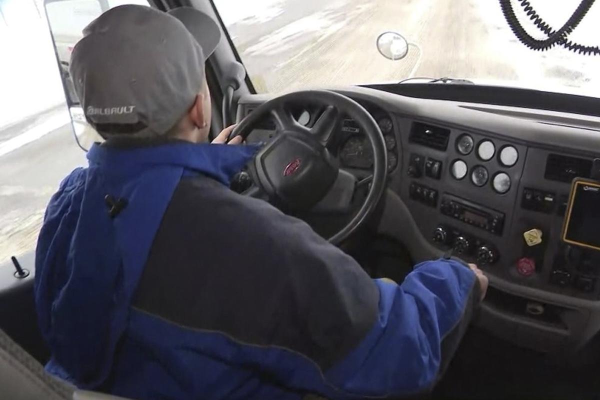 Control de las horas de conducción de los camioneros