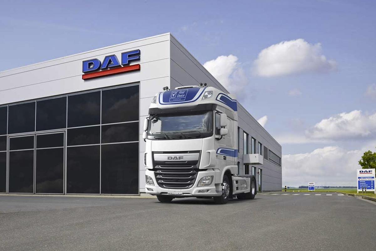 DAF lanza camiones seminuevos con garantía completa