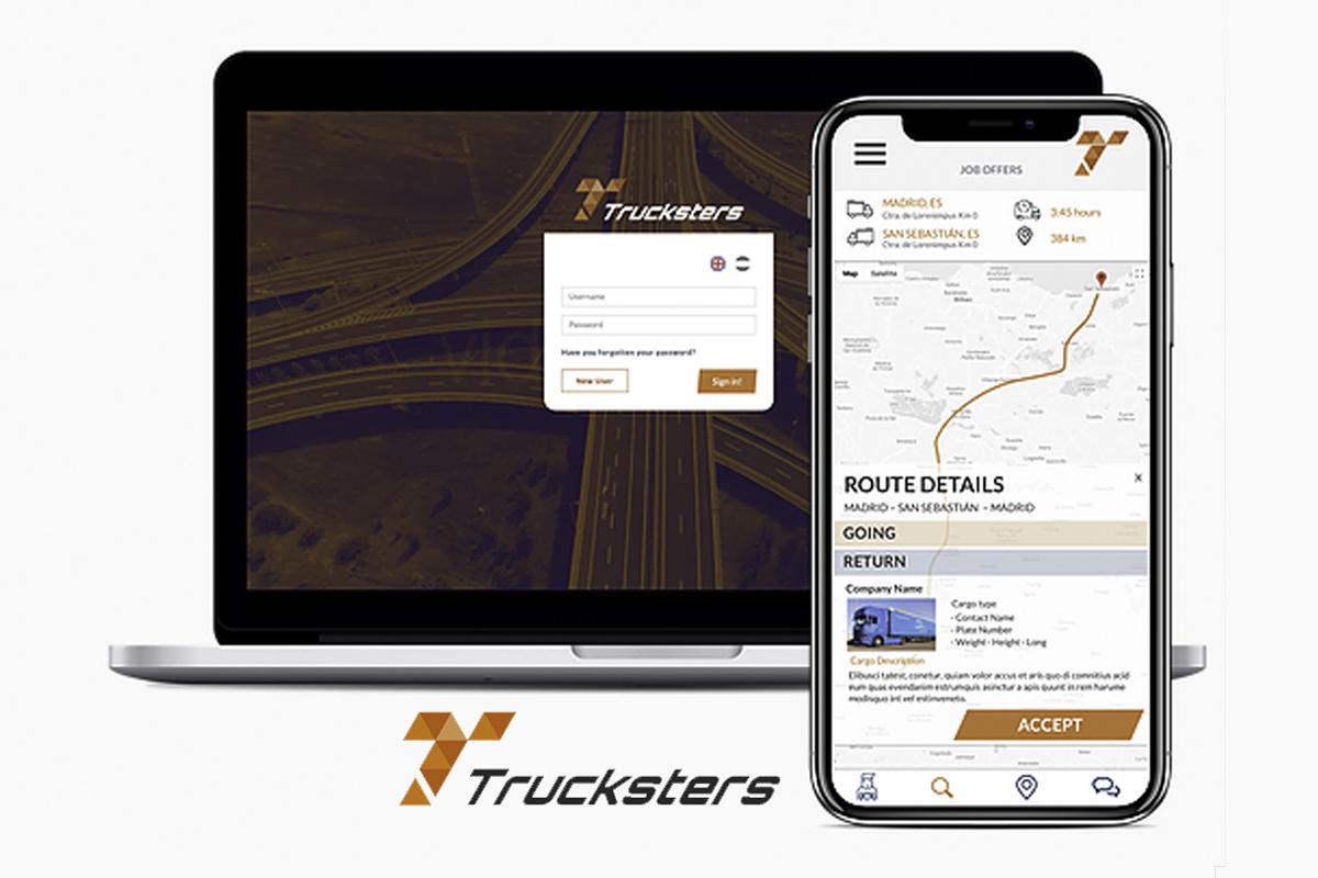 Trucksters, la App que evitará que los camioneros vuelvan a dormir fuera de casa