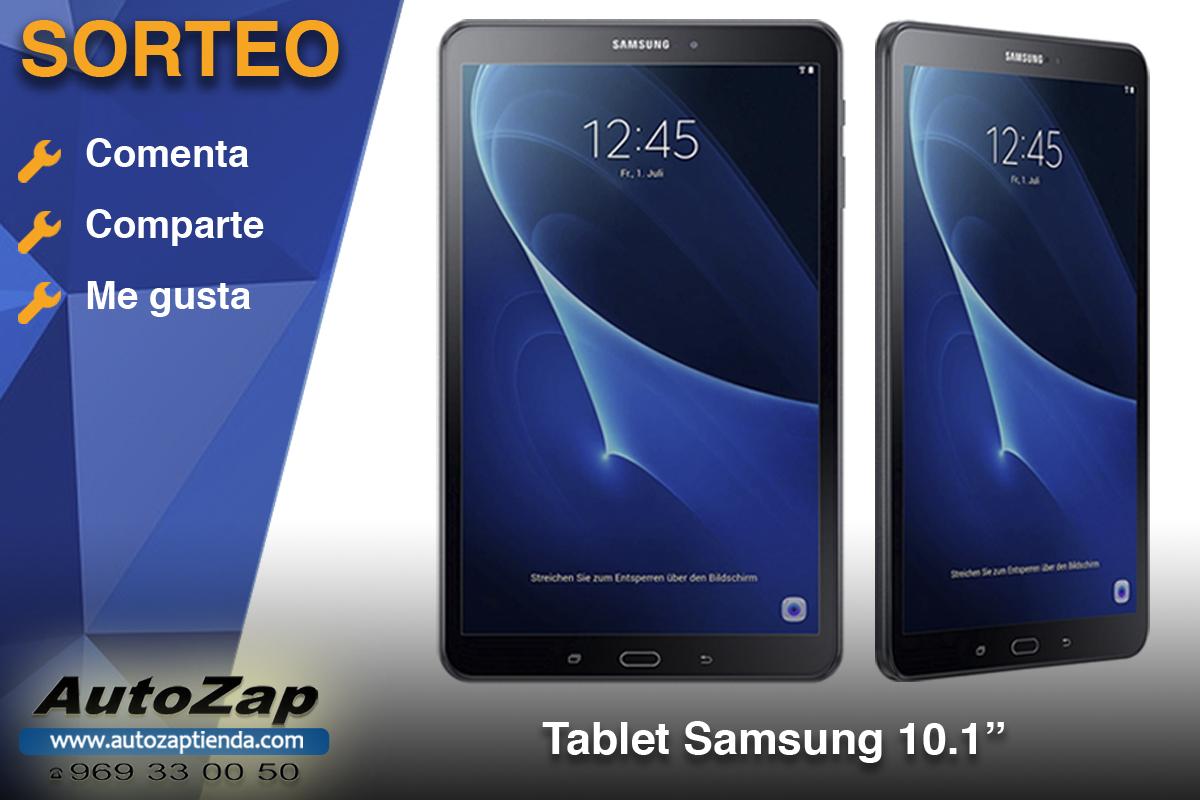 Celebramos San Cristobal sorteando una Tablet Samsung valorada en más de 250€